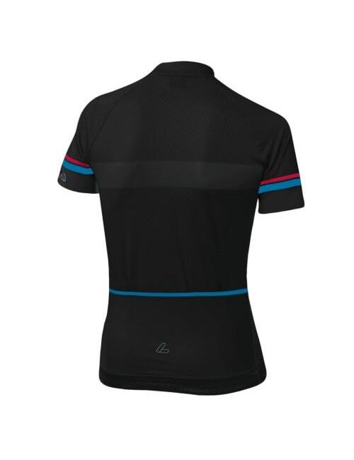 Loeffler wielrenshirt korte mouwen W Bike Jersey FZ HotBOND® dames - Zwart