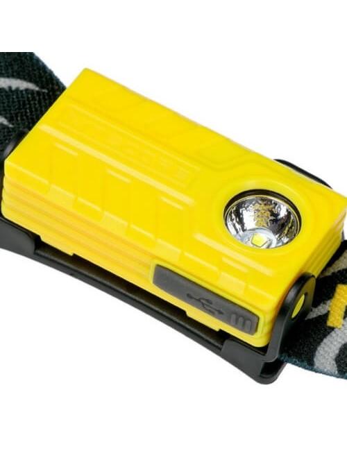 NiteCore Stirnlampe wiederaufladbare NU20 360 Lumen, Gelb