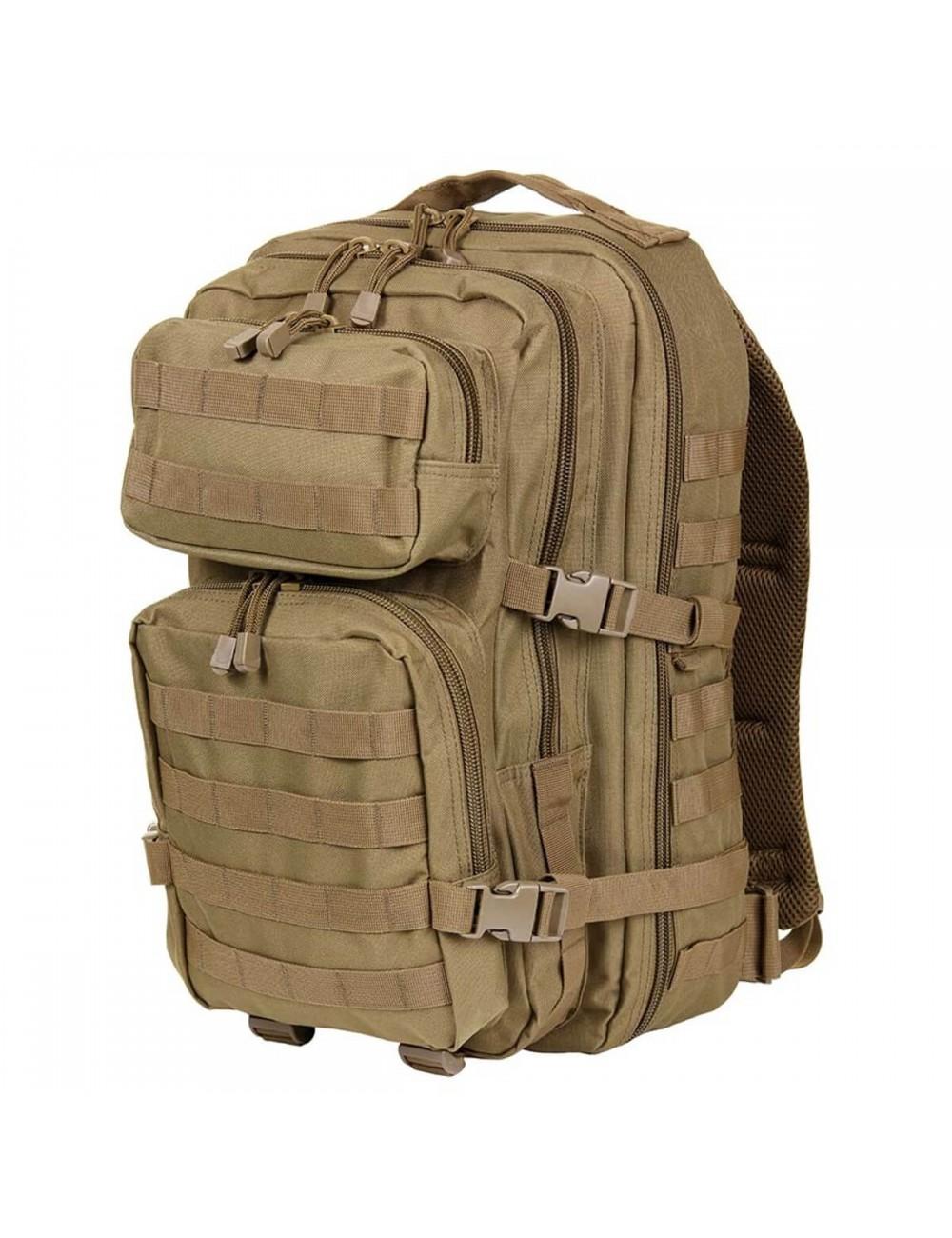 101 Inc Mountain backpack 45 liter US leger model - Coyote