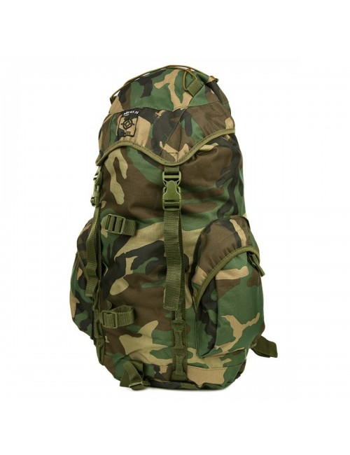 Fostex backpack Woodland 35 litres - camouflage Green - Brown