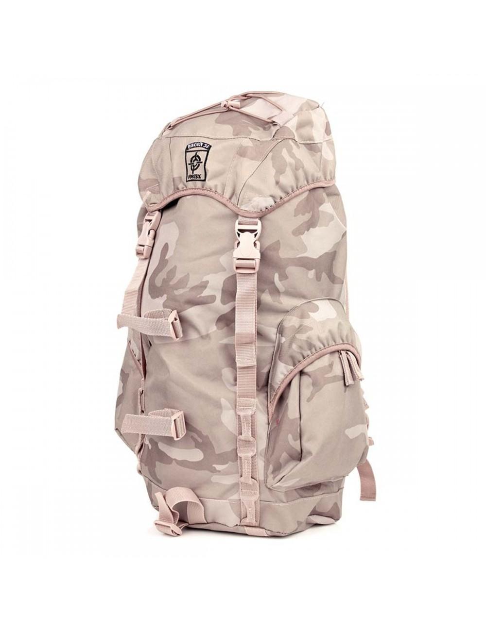 Fostex rugzak Recon Desert 35 liter - camouflage Woestijnkleuren
