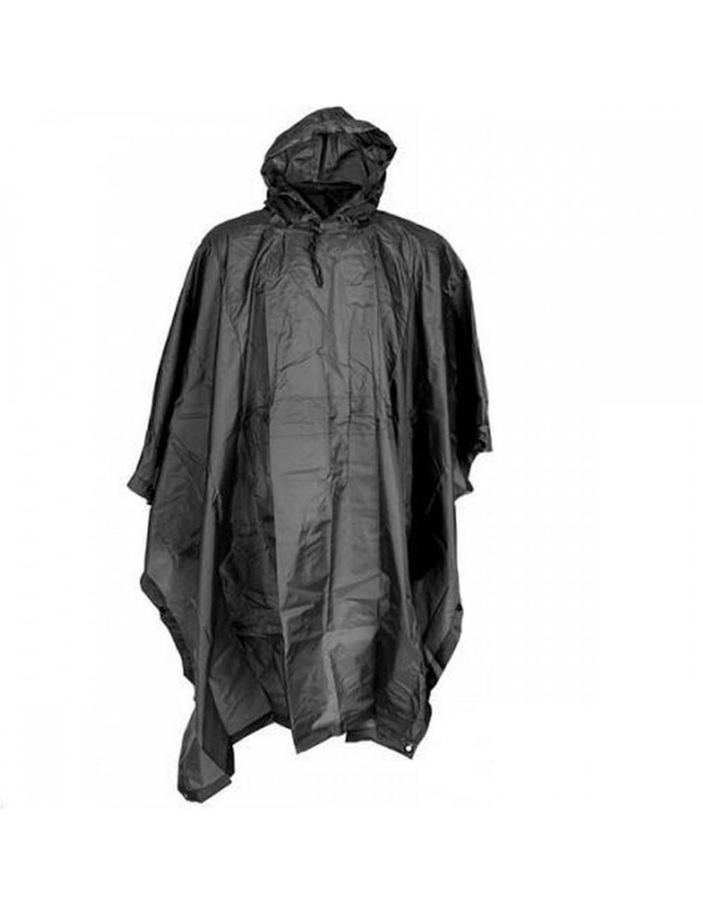 Fostex Poncho Ripstop One Size - Zwart