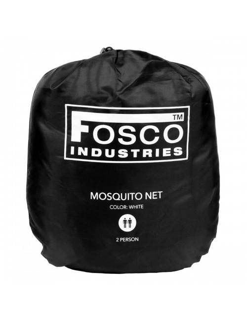 Fosco Industries muskietennet Mosquito net 2 persoons - Wit