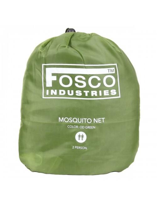 Fosco Industries muskietennet Mosquito net 2 persoons - Groen