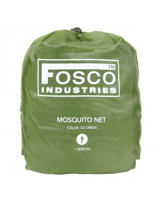 Fosco Industries muskietennet Mosquito net 1 persoons - Groen