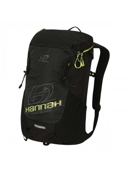 Hannah Outdoor backpack Raven 28 Air-Vent - Black with Lime Green