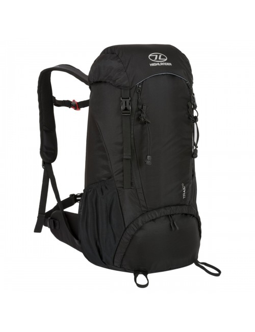 Highlander mochila de Trail, una de 40 litros mochila - negro es Negro