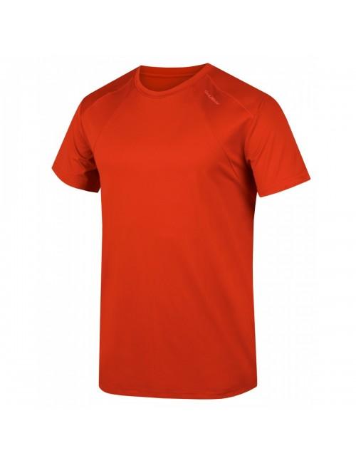 Husky t-shirt Tele de M de los hombres funcional Cooldry - Rojo Oscuro