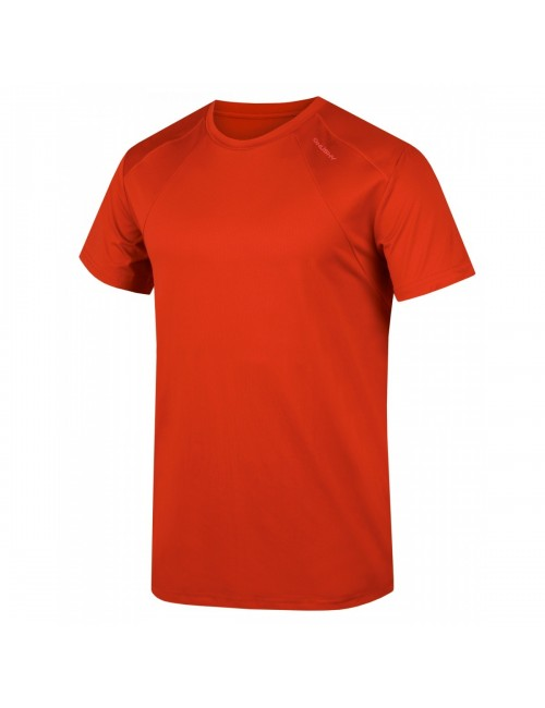 Husky t-shirt Telly M voor heren functioneel Cooldry - Donker Rood