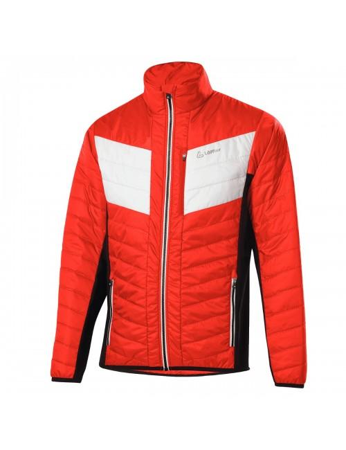 Loeffler jacket M, mens Jacket Evo Hotbond Primaloft 60 - Red