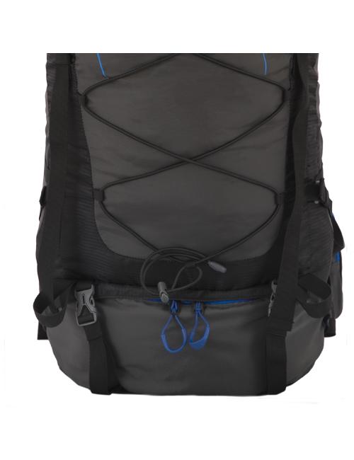 Husky backpack Ultralight Ribon 60 liter - Zwart