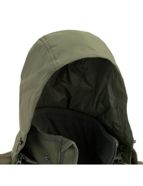 Defcon 5 jas Urban Shell Jacket met capuchon - Groen