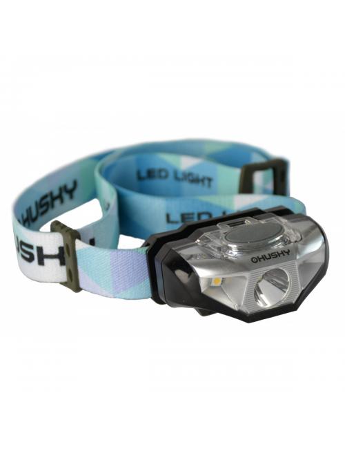 Husky Outdoor hoofdlamp op AA batterij Selma 140 lumen - Zwart