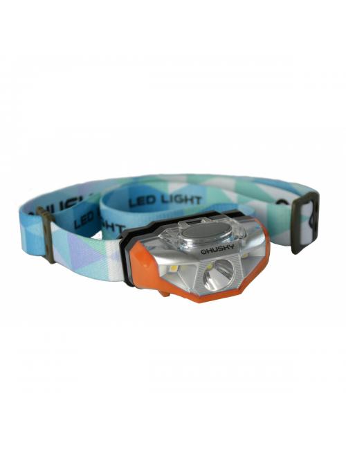 Husky Outdoor hoofdlamp op AA batterij Selma 140 lumen - Oranje