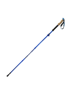 Highlander wandelstok Trek Lite (single) - 3-delig - Blauw