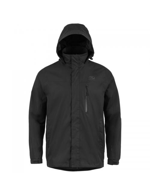 Highlander outdoor jacket, Kerrera Jacket men's - rain-jacket - Black -