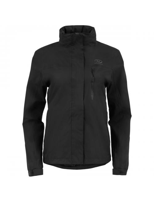 Highlander outdoor jacket, Kerrera Jacket-women's - rain-jacket - Black -