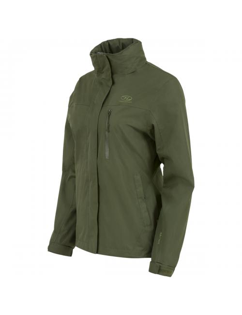 Highlander chaqueta al aire libre, Kerrera Chaqueta-mujer - chaqueta para la lluvia - Verde
