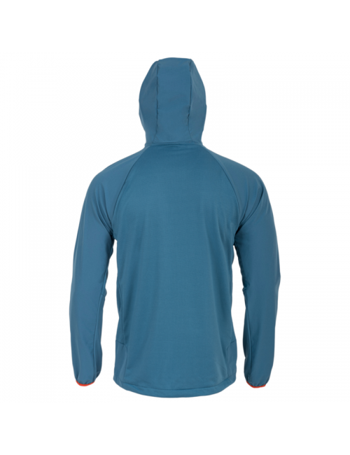 Highlander Hirta Híbridos de capa intermedia de la camisa chaqueta de los hombres - Azul