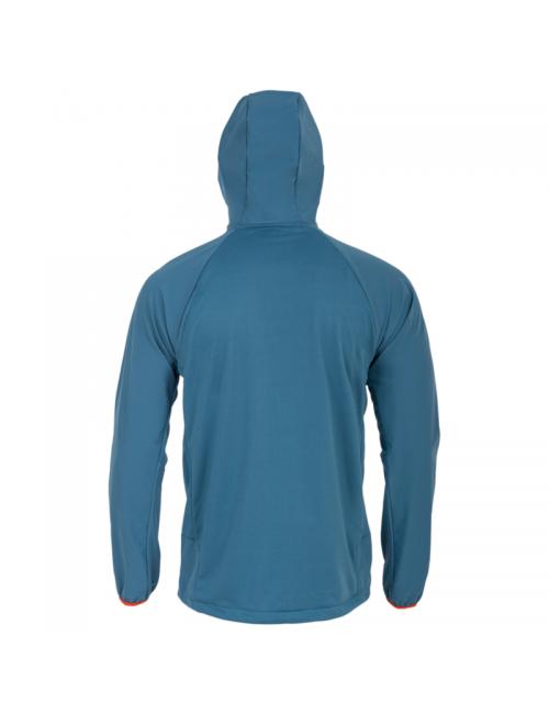 Highlander Hirta Hybrid midlayer shirt jacket in a men's - Blue