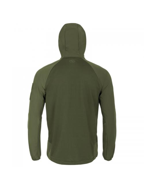 Highlander Taktische Hirta Hybrid-midlayer shirt-Jacke für Herren - Grün