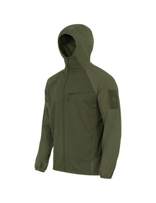 Highlander Táctica Hirta Híbridos de capa intermedia de la camisa chaqueta para los hombres de Verde