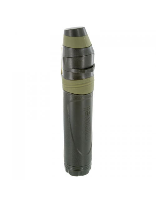 Highlander outdoor water filter miniwell L600 Straw - Green