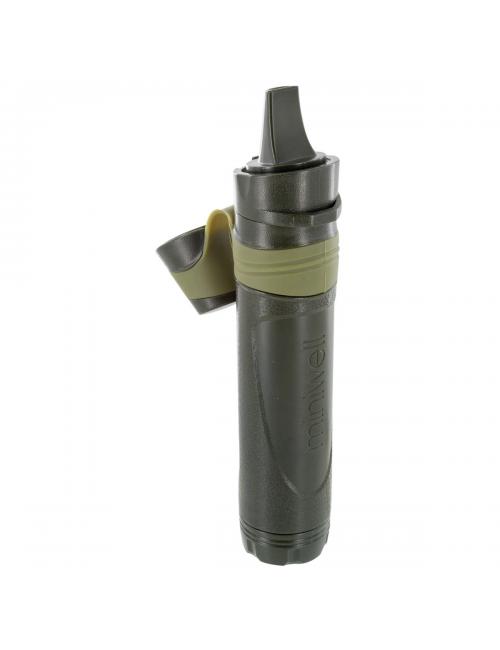 Highlander outdoor waterfilter miniwell L600 Straw - Groen