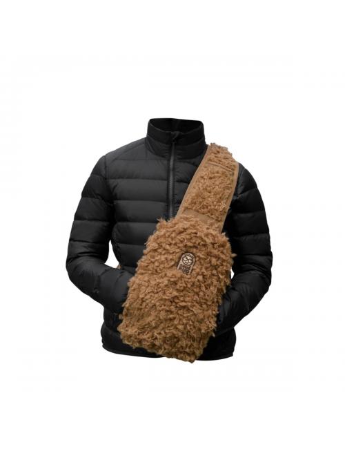 Snugbud Junior – vest-backpack-with heat-jug – And-Brown