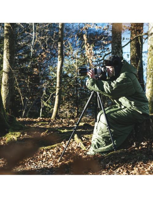 Bergstop slaapzak 3 seizoen multifunctioneel Cozybag Wilderness -Groen
