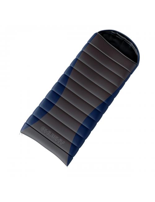 Der Husky Schlafsack dekenmodel Zugigen Lagertemperatur -20°C bis 220 cm x 85 cm, Blau