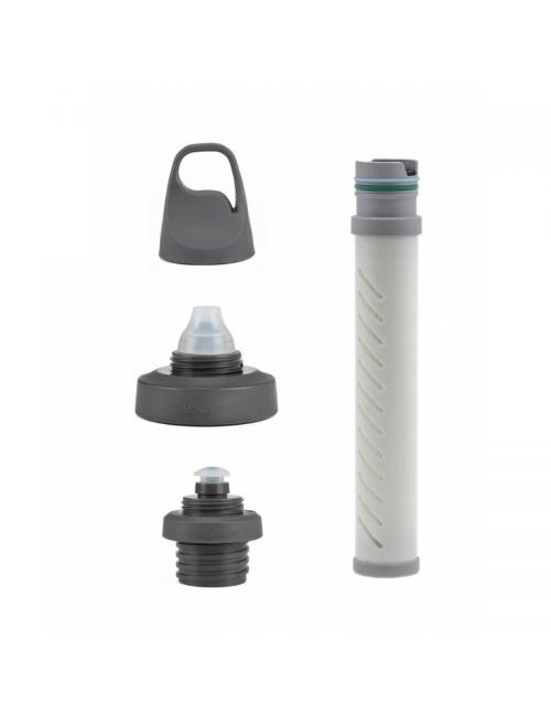 LifeStraw filtro de agua con adaptador Universal kit para una variedad de botellas de agua