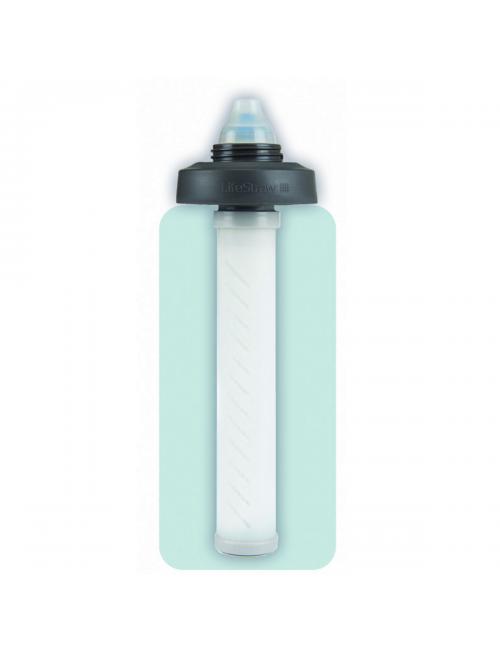 LifeStraw filtre à eau Universel avec kit adaptateur pour une variété de bouteilles d'eau