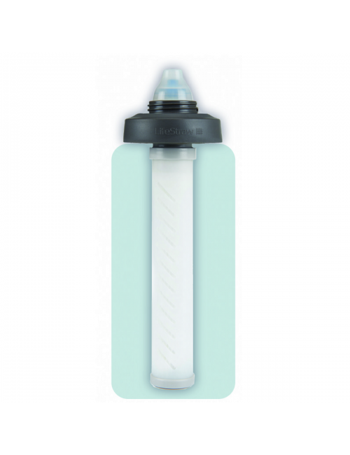 LifeStraw Wasserfilter mit Universal-adapter-kit für eine Vielzahl von Wasser-Flaschen