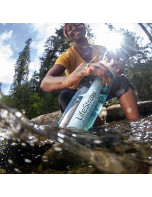 LifeStraw waterfilterfles Gehen, 1 Liter - Klar