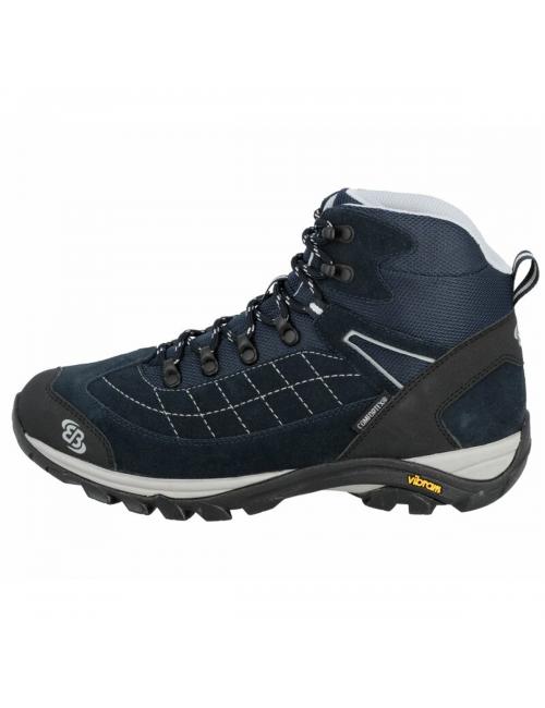 Brütting boots on the Mount Crillon-High, Navy Blue