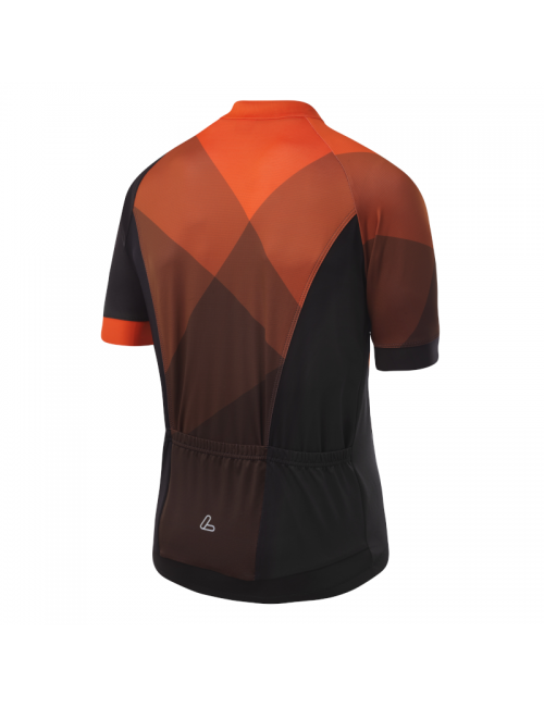 Loeffler wielrenshirt de manga corta-M Bicicleta Jersey FZ Hotbond - Naranja