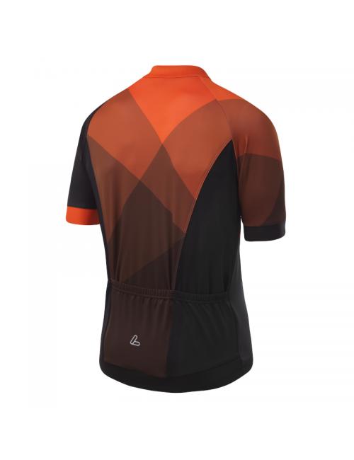 Loeffler wielrenshirt short-sleeve-M Bike Jersey FZ Hotbond - Orange