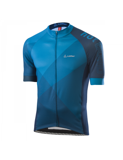 Loeffler wielrenshirt de manga corta-M Bicicleta Jersey FZ Hotbond - Azul