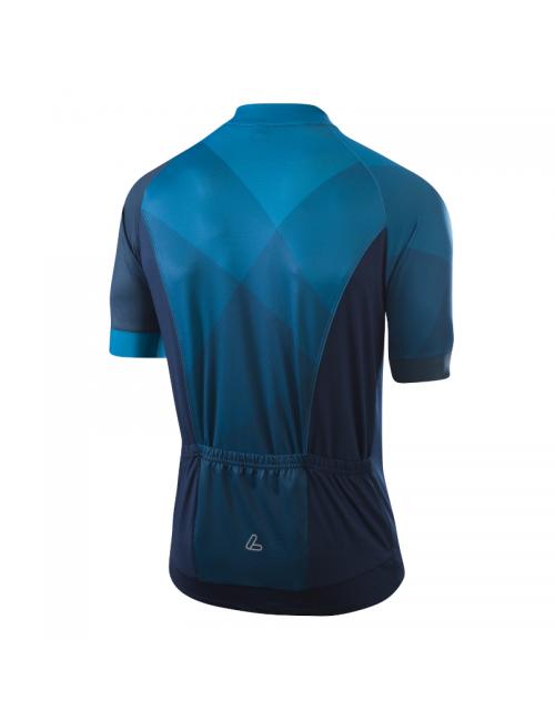 Loeffler wielrenshirt short-sleeve-M Bike Jersey FZ Hotbond - Blue