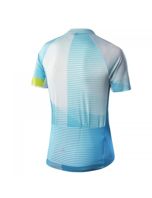 Loeffler wielrenshirt short sleeve W Bike Jersey FZ Hotbond RF and Blue