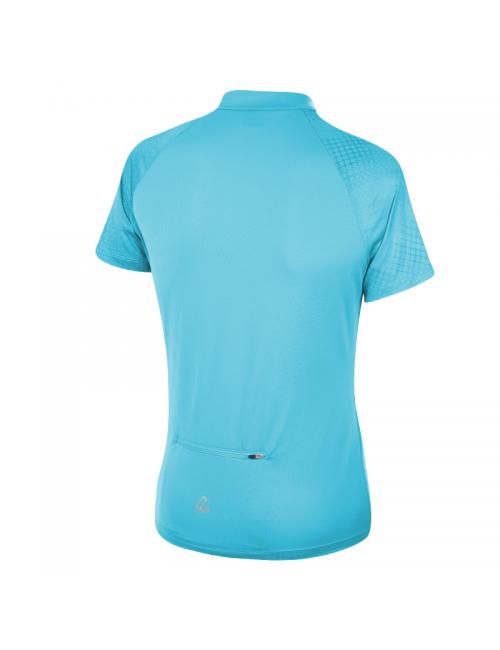 Loeffler wielrenshirt korte mouwen W Bike Shirt HZ Rise 3.0 - Blauw