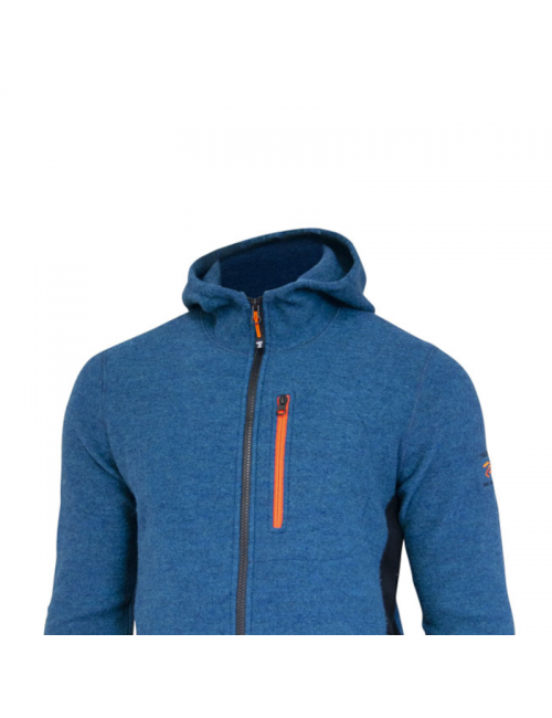 They quality of Valle, Character, Electric Blue, for men, wool, Blue,