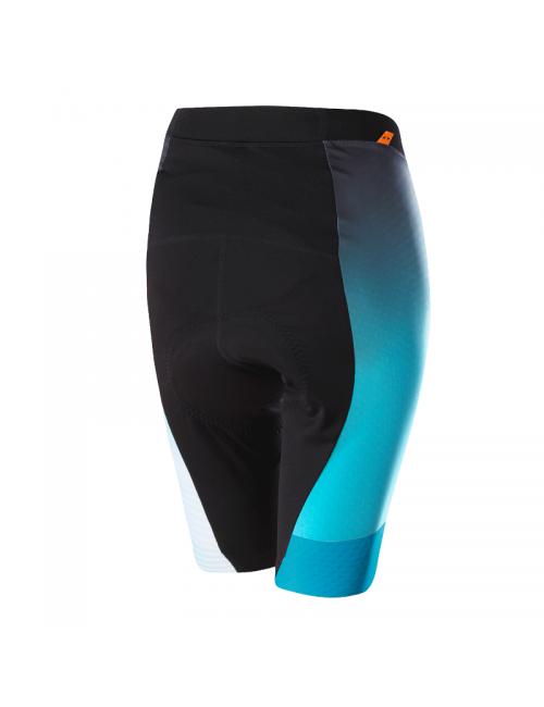 Loeffler fietsbroek voor dames kort W Bike Tights Concept XT - Zwart