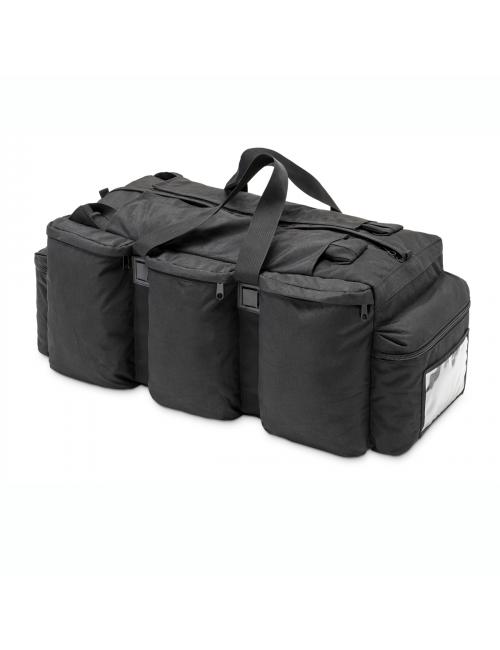 Defcon 5 reistas duffle bag- rugzak - 100 liter - met 6 vakken - Zwart