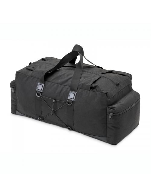 Defcon 5 bolsa de viaje bolsa de lona - - - mochila - 100 litros, 6 compartimentos, Negro