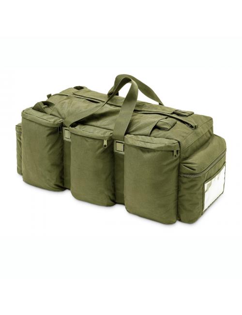 Defcon 5 bolsa de viaje bolsa de lona - - - mochila - 100 litros, 6 compartimentos, Verde y