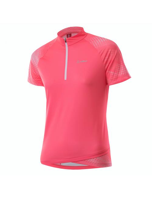 Loeffler wielrenshirt korte mouwen W Bike Shirt HZ Rise 3.0 - Roze