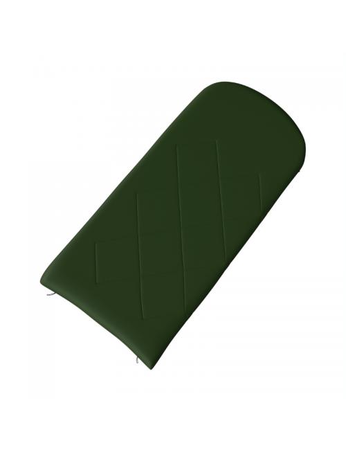 Husky bag dekenmodel Gary -5°C-220 x 90 cm, Flanell -, Grün-und