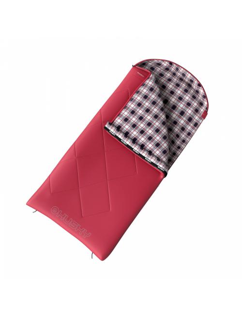 Husky slaapzak voor dames dekenmodel Groty -5°C 200 x 85 cm - Roze
